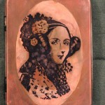Mr. von Slatt's Copper Plated Ada Lovelace tin via: Steampunk