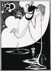 Aubrey Beardsley - Apotheose. Illustration zu Oscar Wildes Salome