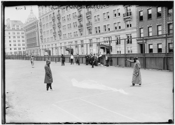 Duell. New York 1909